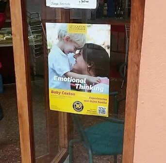 Colocación de carteles en Valencia