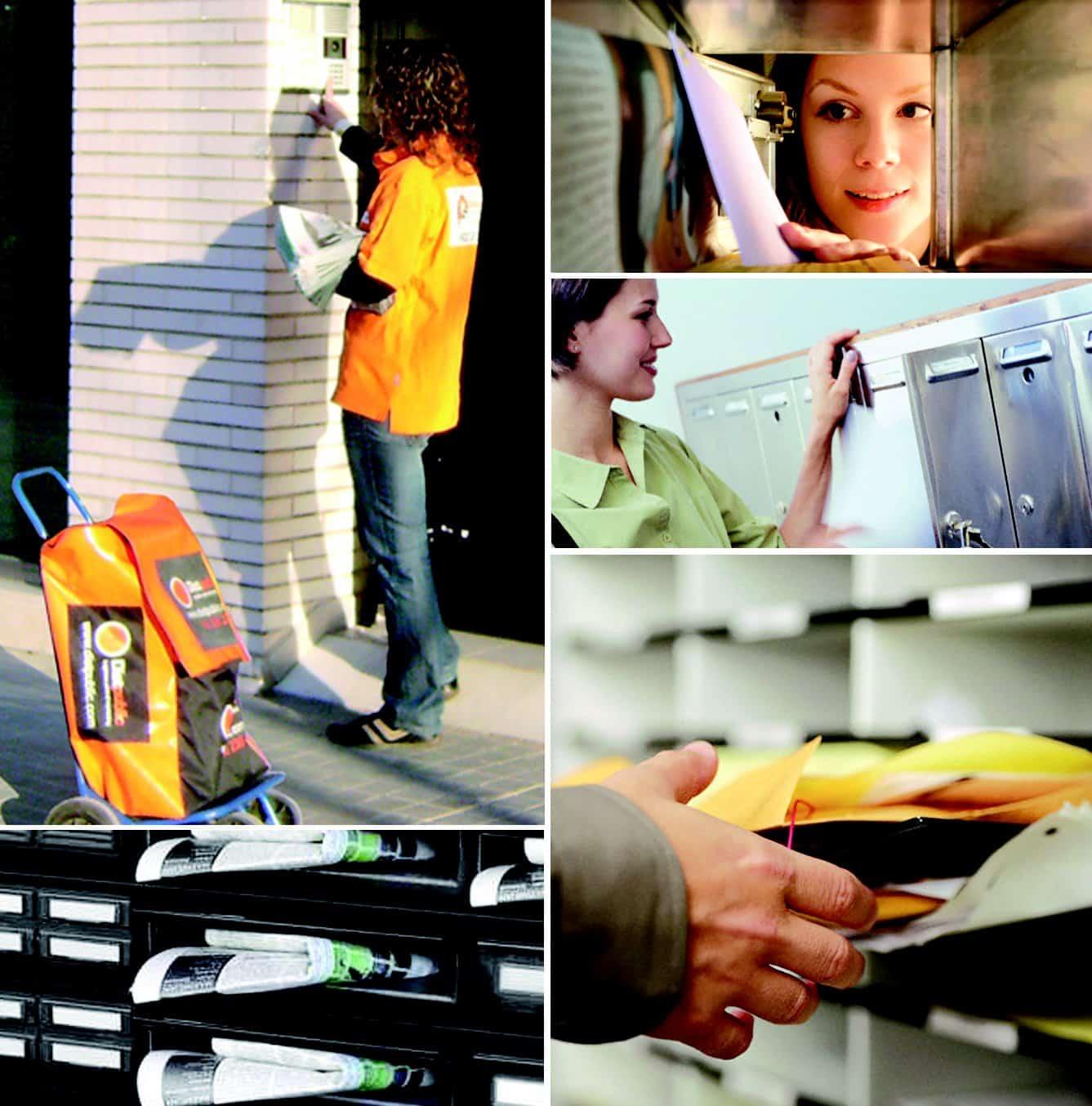 Trabajos de distribución de folletos en Valencia