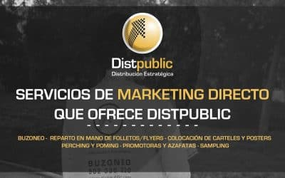 Servicios de marketing directo que ofrece Distpublic