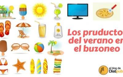 Los productos del verano en el buzoneo